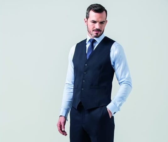 CLUBCLASS CC6004 - Bond men's suit vest