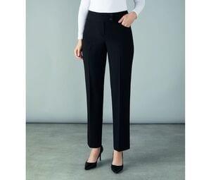 CLUBCLASS CC9006 - Damskie spodnie garniturowe Ascot