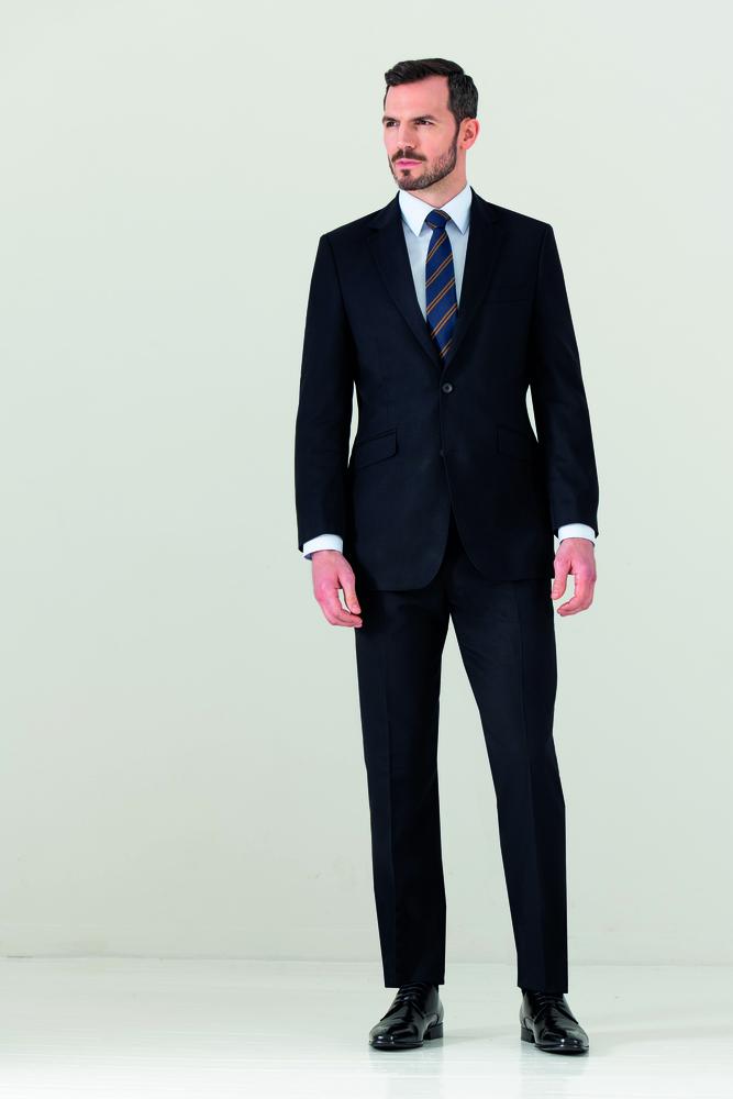 CLUBCLASS CCJ9502 - Titanium Fitted Suit Jacket