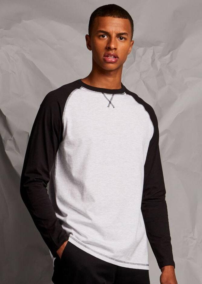 Front row FR140 - T-shirt long sleeve baseball