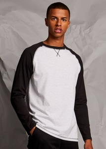 Front row FR140 - T-shirt long sleeve baseball