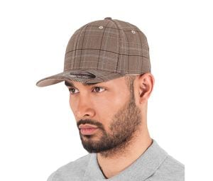 Flexfit FX6196 - Cap mit Prince of Wales Muster