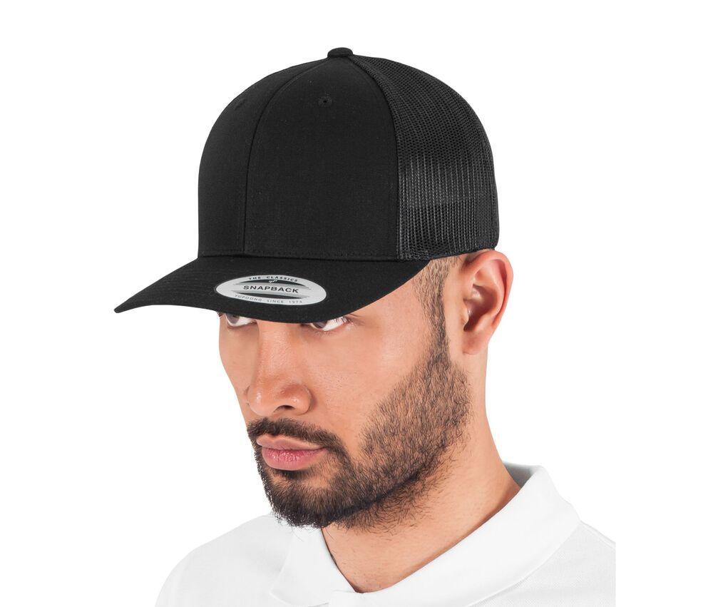 Flexfit FX6606 - curved visor cap trucker style