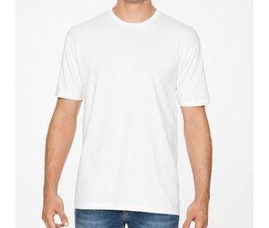 Gildan GN64EZ - Camisa Gildan Branca homem manga curta