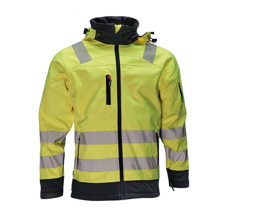 Herock HK190 - Gregor High Visibility Softshell Jacket
