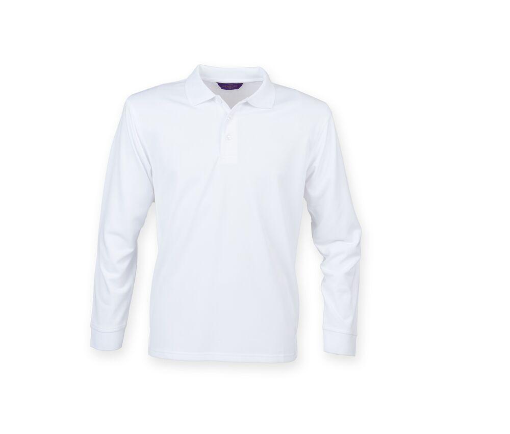 Henbury HY478 - Long Sleeve Polo