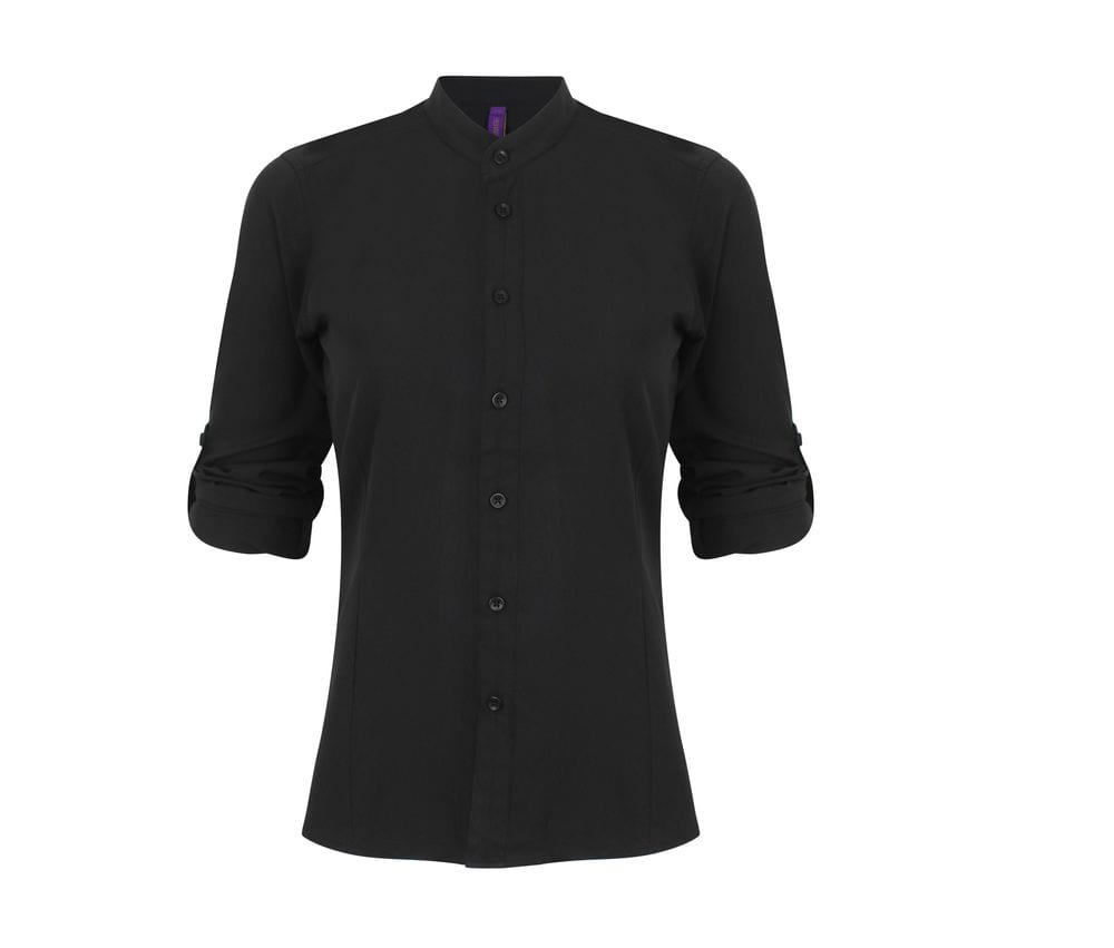 Henbury HY593 - Woman shirt collar mao