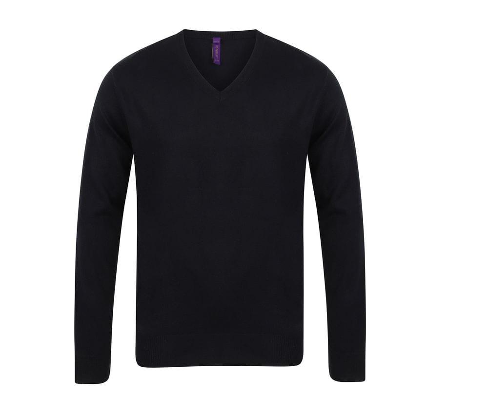 Henbury HY720 - V-neck sweater man