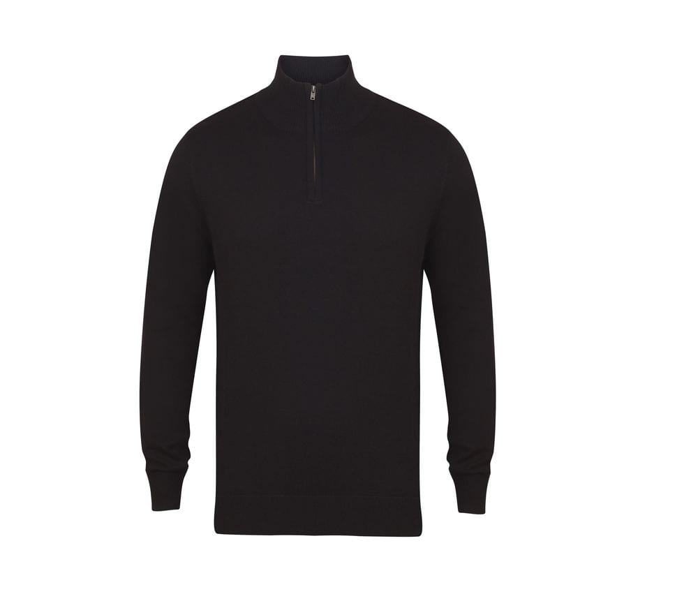 Henbury HY729 - zip neck sweater