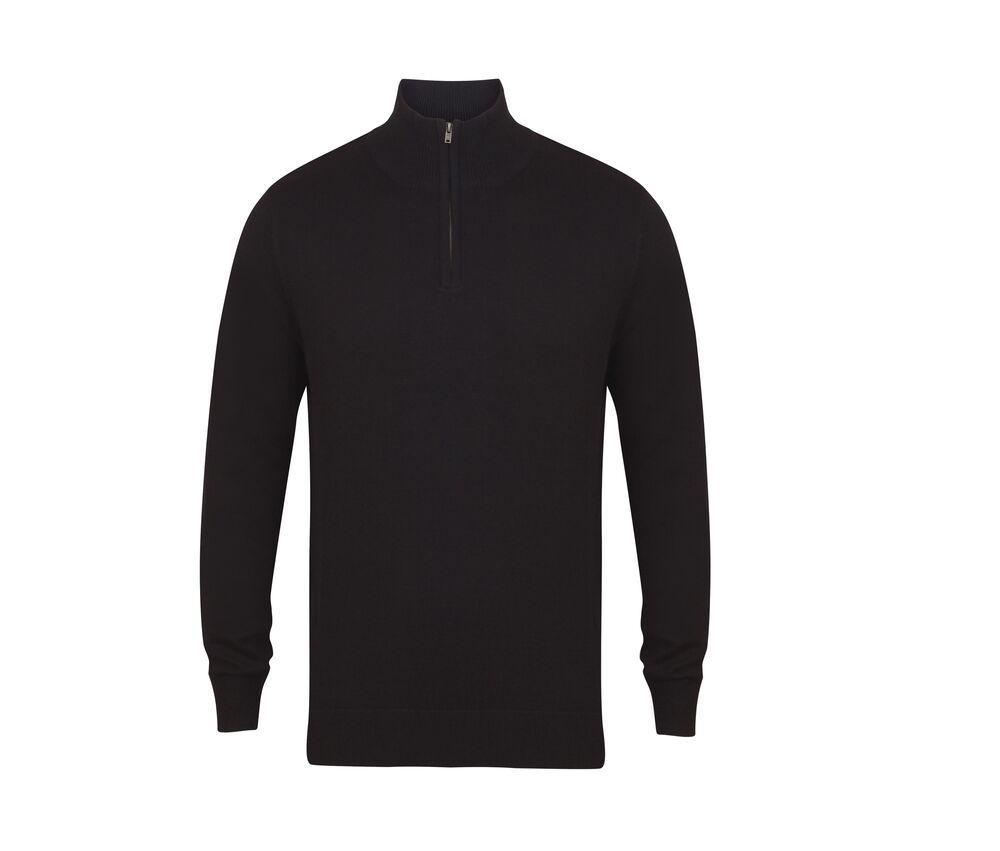 Henbury HY729 - zip neck sweater