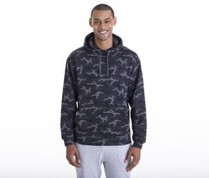 AWDIS JH014 - Camo sweatshirt met capuchon