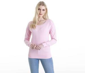 AWDIS JH036 - Womens neckline pullover
