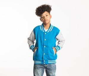 AWDIS JH043J - Honkbal sweater kinderen