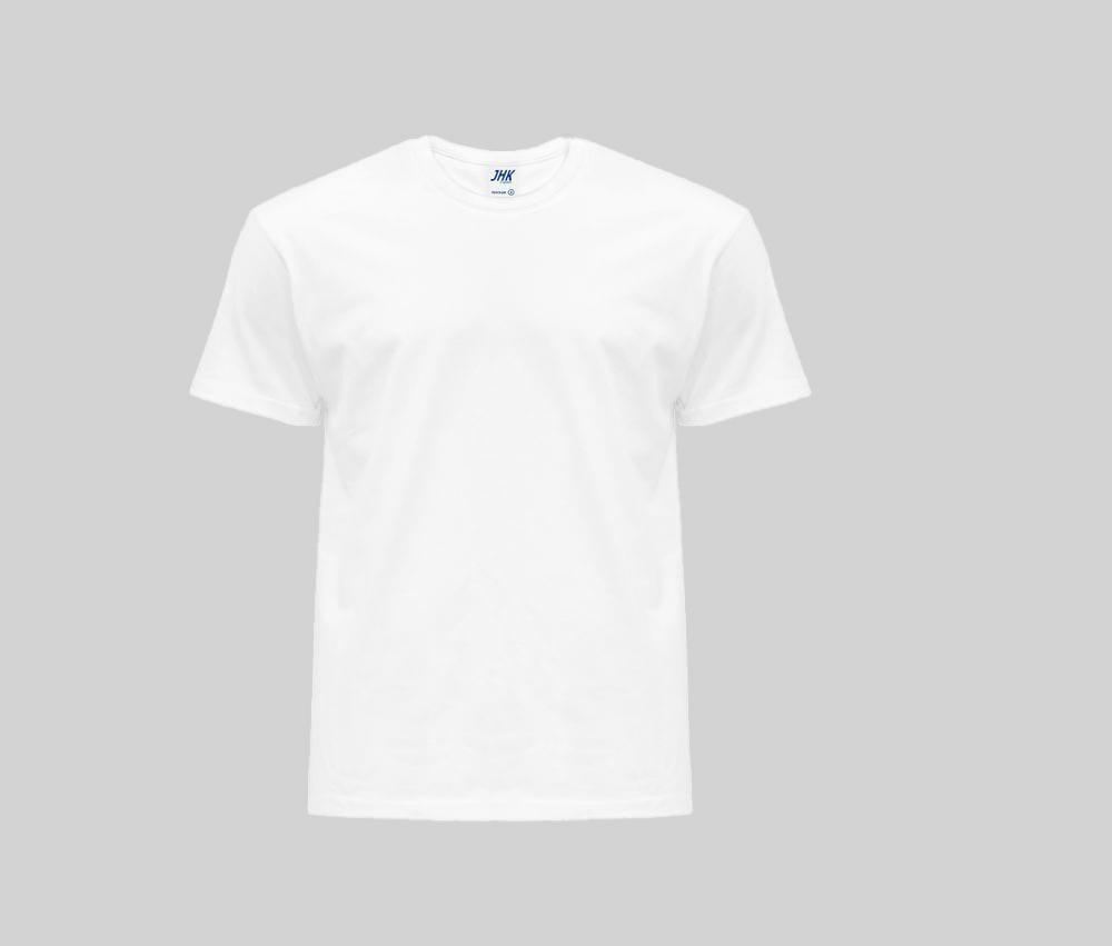 JHK JK145 - T-shirt Madrid Col Rond pour hommes