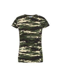 JHK JK150 - Vrouwen 155 T-shirt met ronde hals
