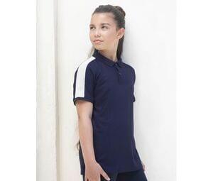 Finden & Hales LV382 - Stretch contrast polo shirt for children