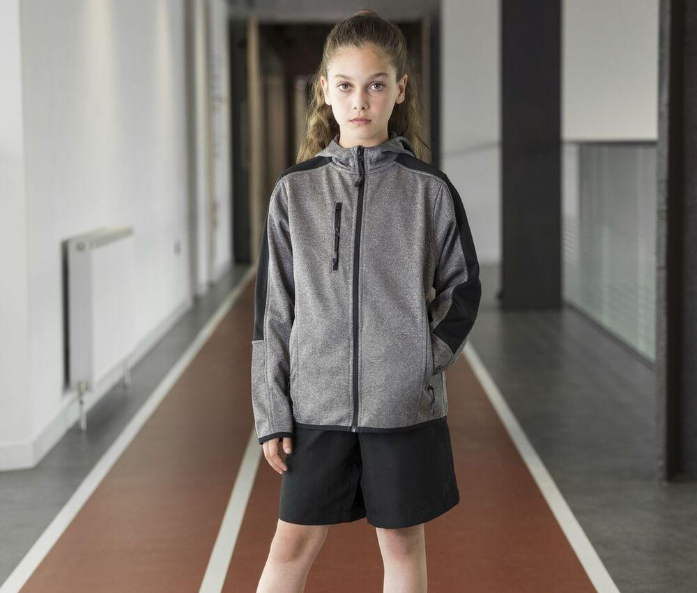 Finden & Hales LV624 - Softshell jacket for kids