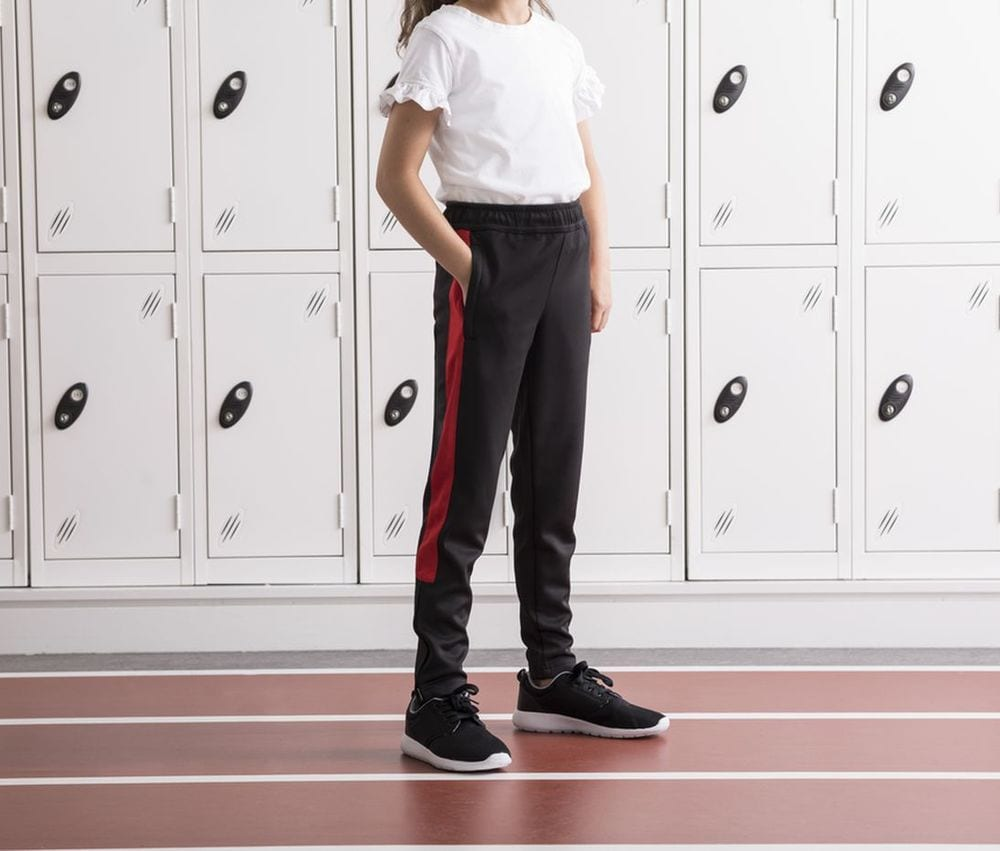 Finden & Hales LV883 - Slim sport pants for children