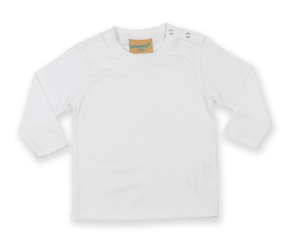 Larkwood LW021 - This long-sleeved Larkwood baby T-shirt