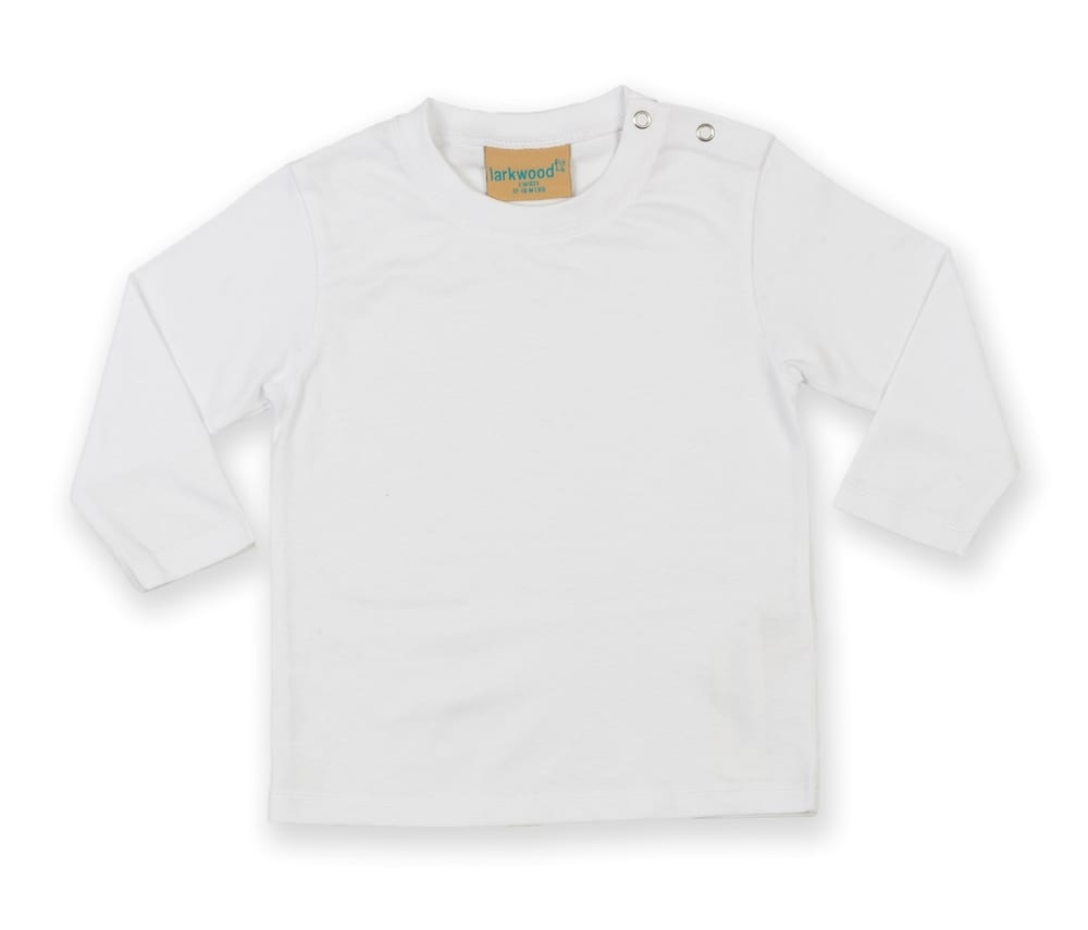 Larkwood LW021 - This long-sleeved Larkwood baby T-shirt
