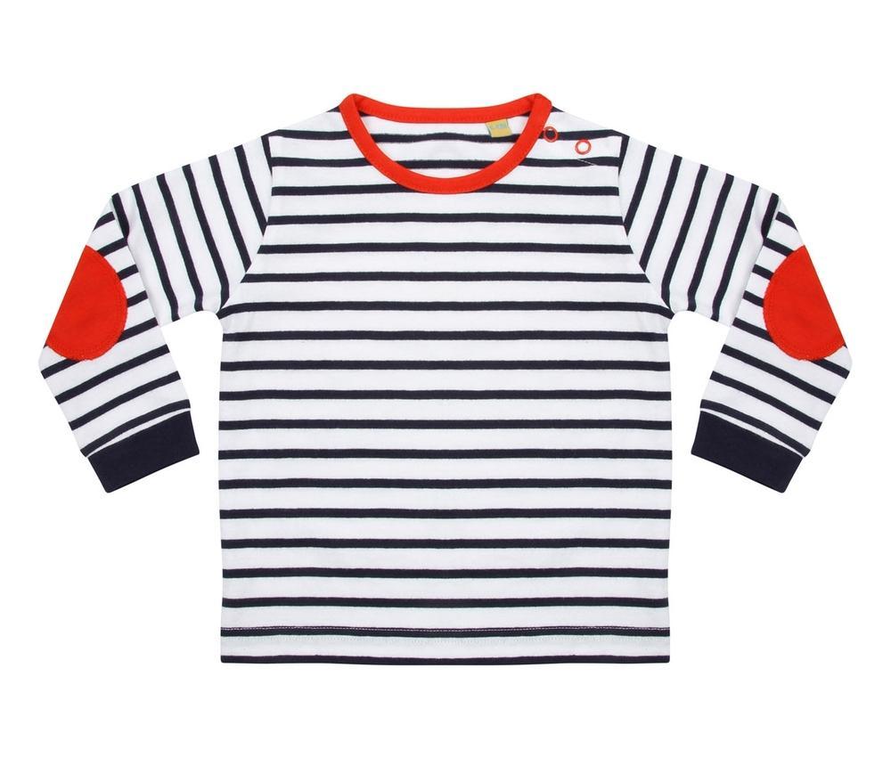 Larkwood LW028 - Striped children's T-shirt
