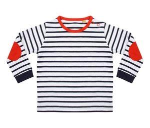 Larkwood LW028 - Camiseta a rayas para niños LW028