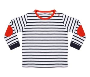 Larkwood LW028 - Striped childrens T-shirt