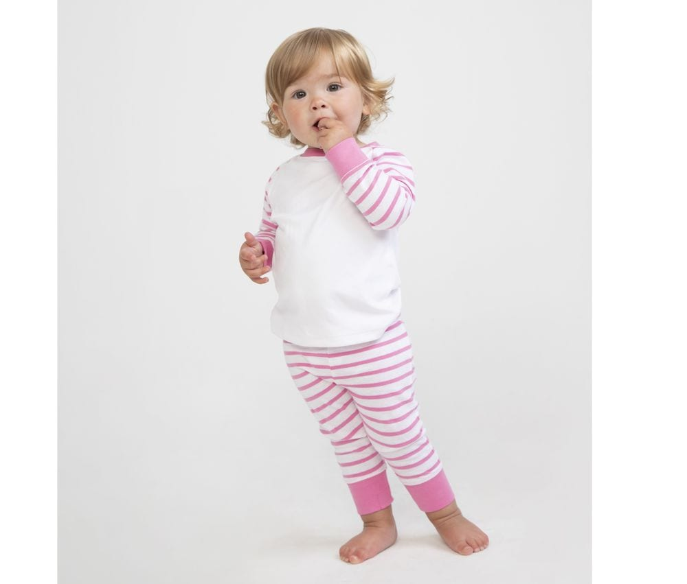 Larkwood LW072 - Striped children's pyjamas