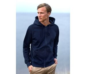 NEUTRAL O63301 - Sweat capuche zippé homme