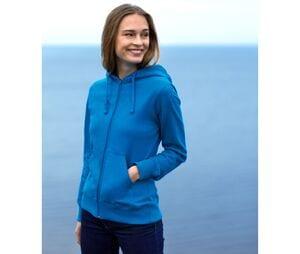 NEUTRAL O83301 - Sweat capuche zippé femme