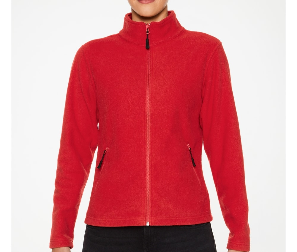 Gildan PF800L - Woman microfleece jacket