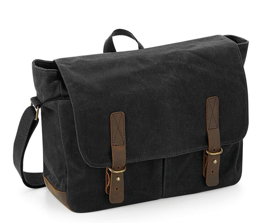 Quadra QD653 - Traditional oilcloth satchel