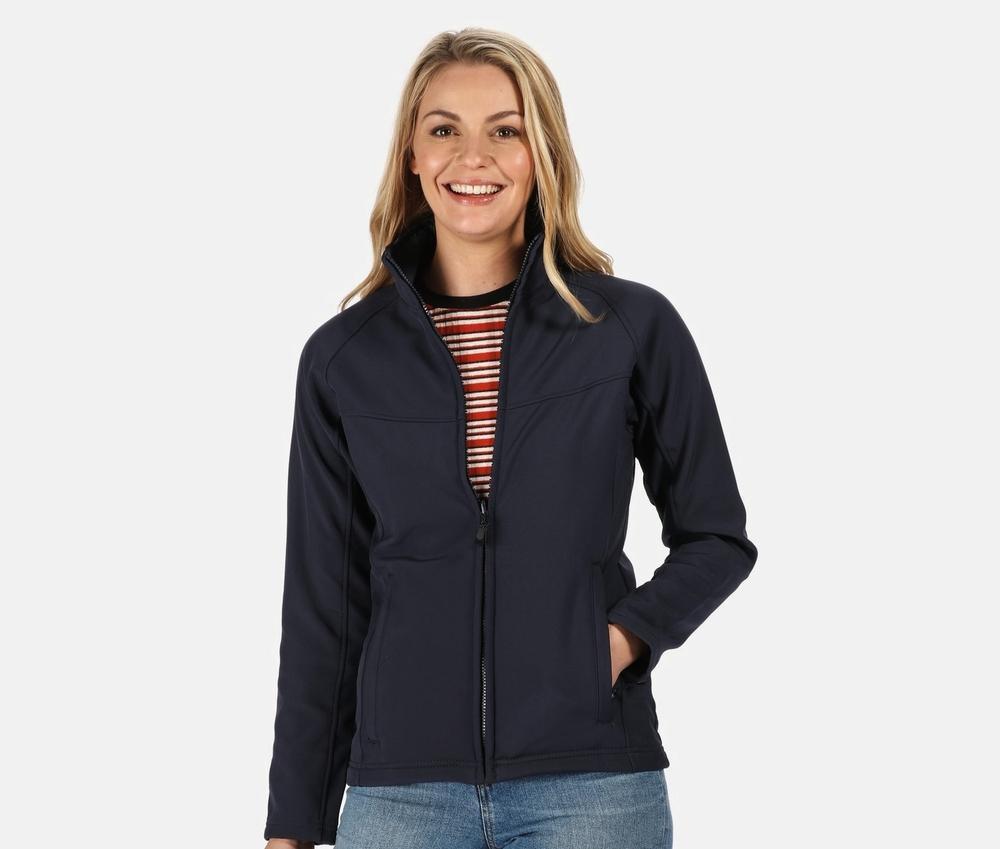 Regatta RGA645 - Women's Interactive Softshell Jacket