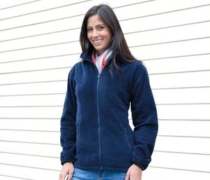 Result RS220F - Polaire grand zip Essentiel femme