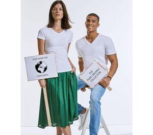 RUSSELL RU103F - Womens organic V-neck t-shirt