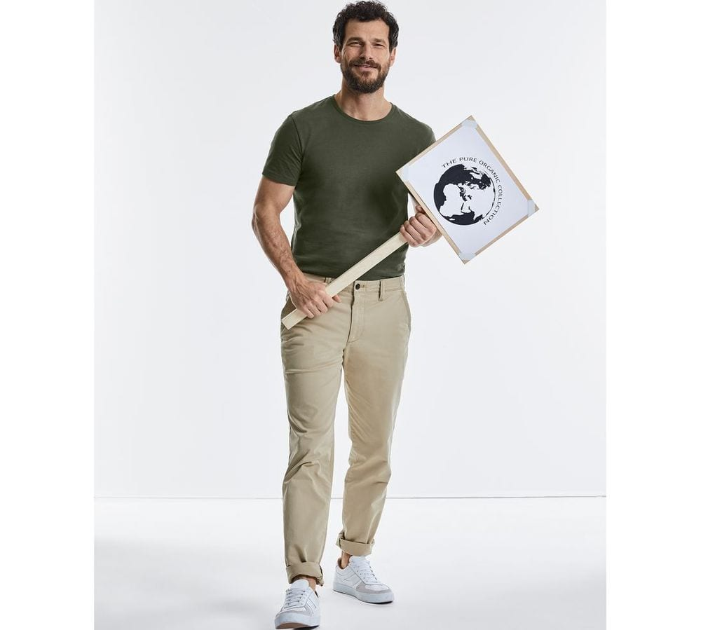 RUSSELL RU108M - T-shirt organique homme