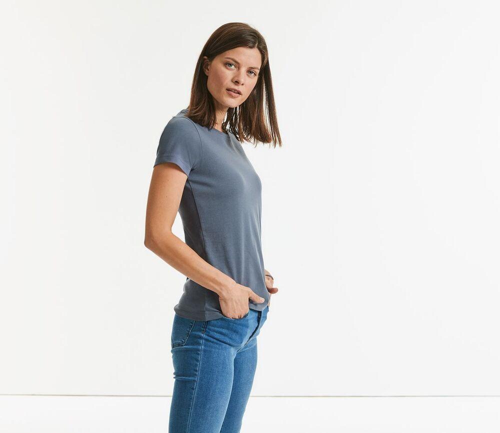 RUSSELL RU118F - Women's Organic Heavyweight T-Shirt