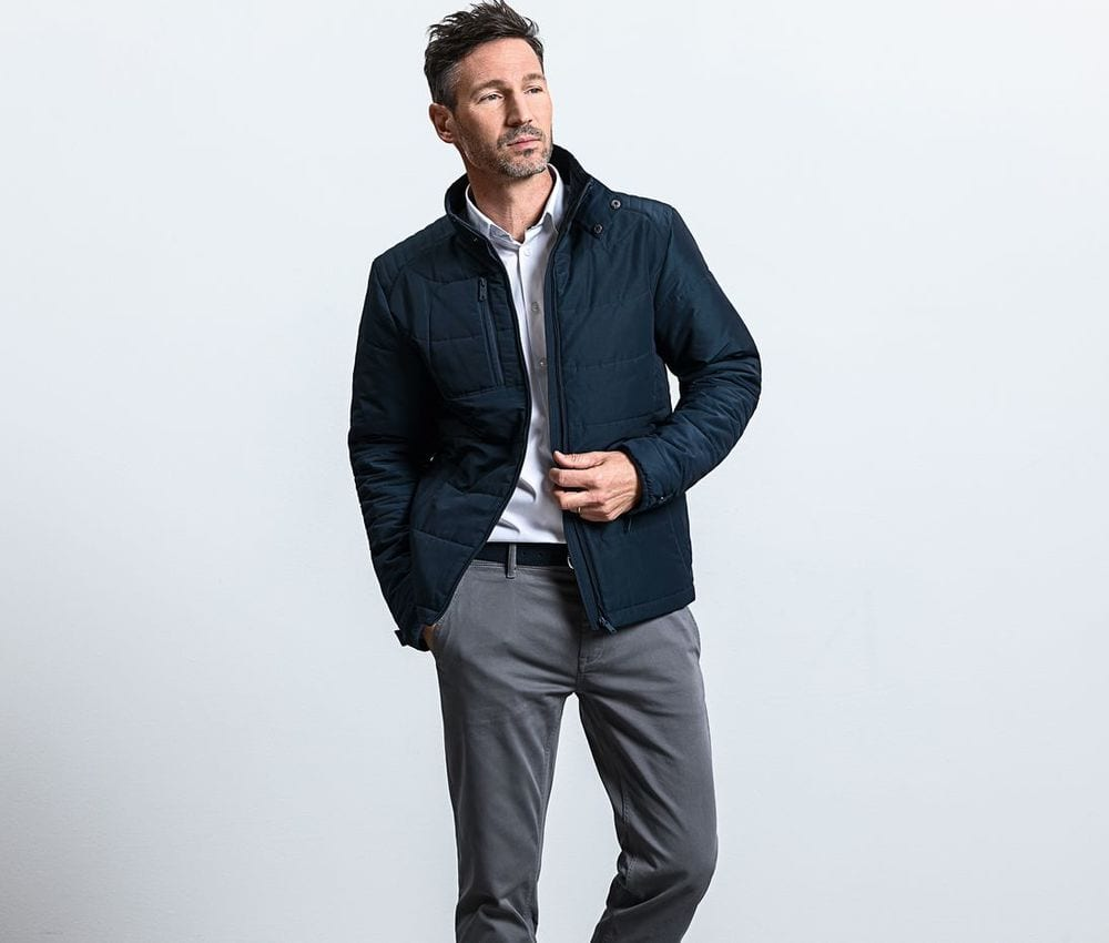 RUSSELL RU430M - Cross Jacket man