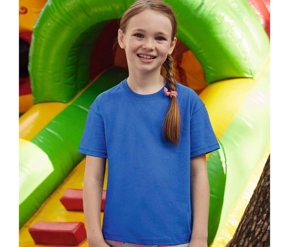 Fruit of the Loom SC1019 - Children'S Long-Sleeves T-Shirt