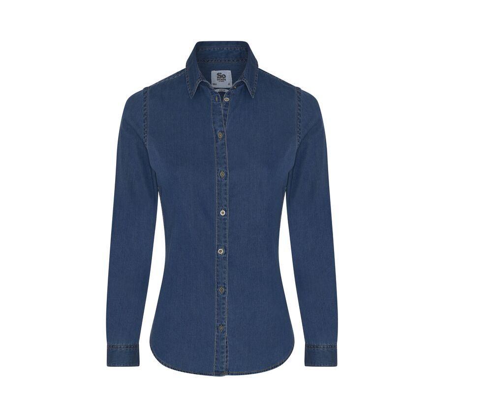 AWDIS SO DENIM SD045 - Denim shirt wife Lucy