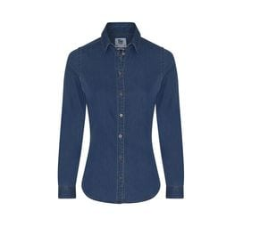 AWDIS SO DENIM SD045 - Camicia da donna in denim Lucy