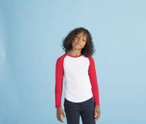 SF Mini SM271 - T-shirt baseball manches longues enfant