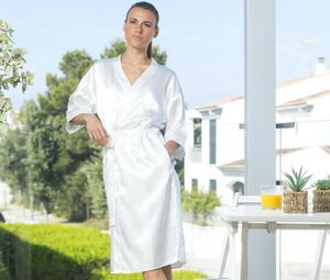 Towel city TC054 - Satin bathrobe
