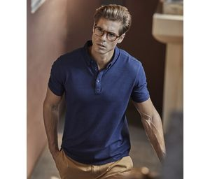 Tee Jays TJ1410 - Polo Fashion de Lujo Stretch Para Hombre