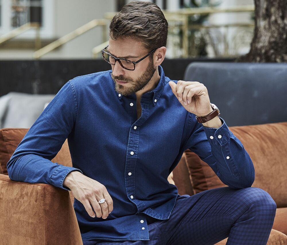 Tee Jays TJ4002 - Casual twill shirt Men