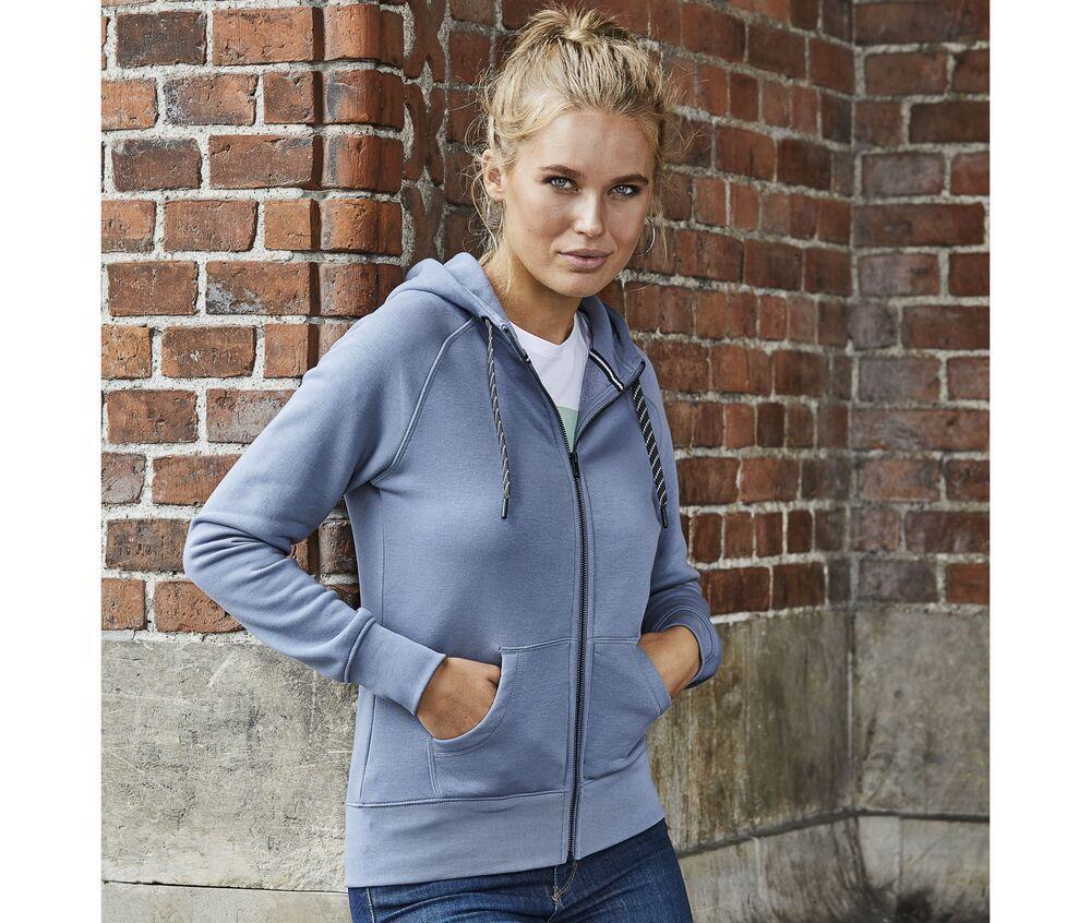 Tee Jays TJ5436 - Fashion full zip hood Women