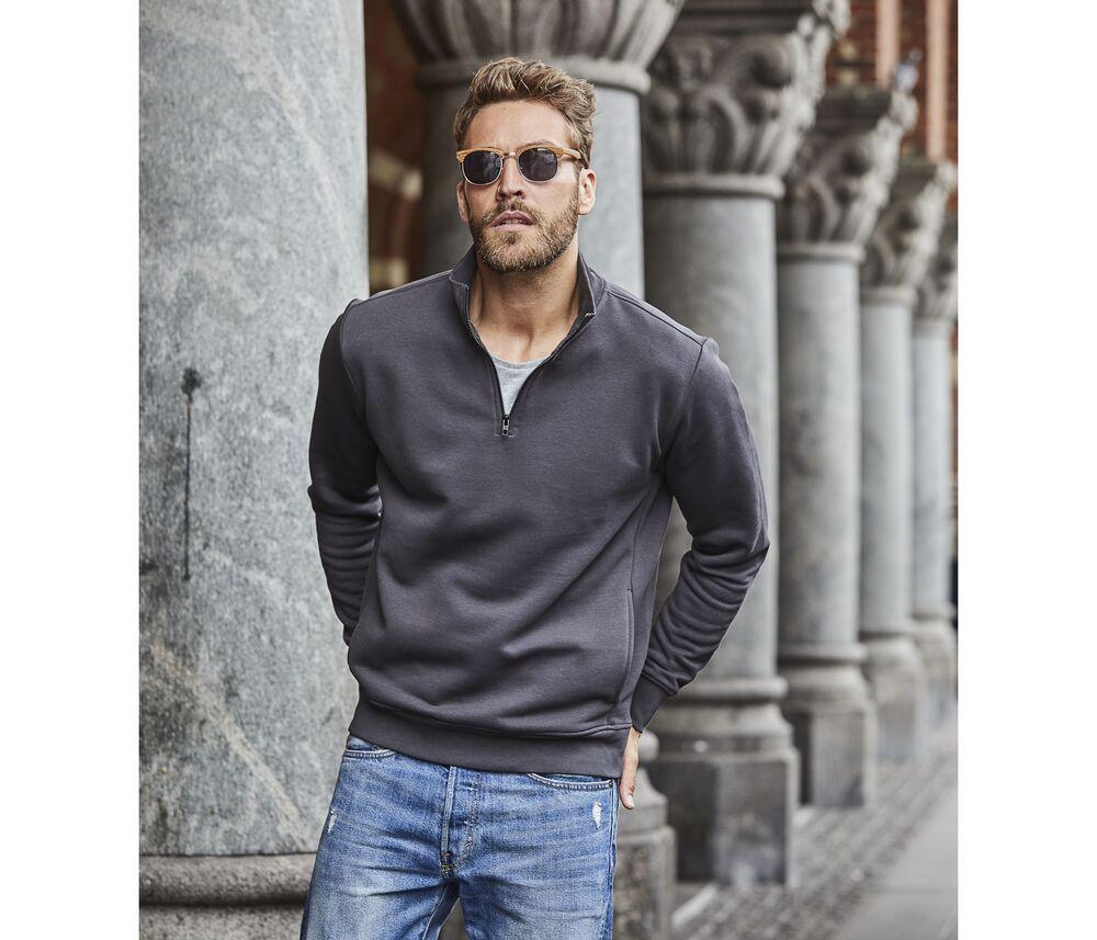Tee Jays TJ5438 - Half zip sweatshirt Men