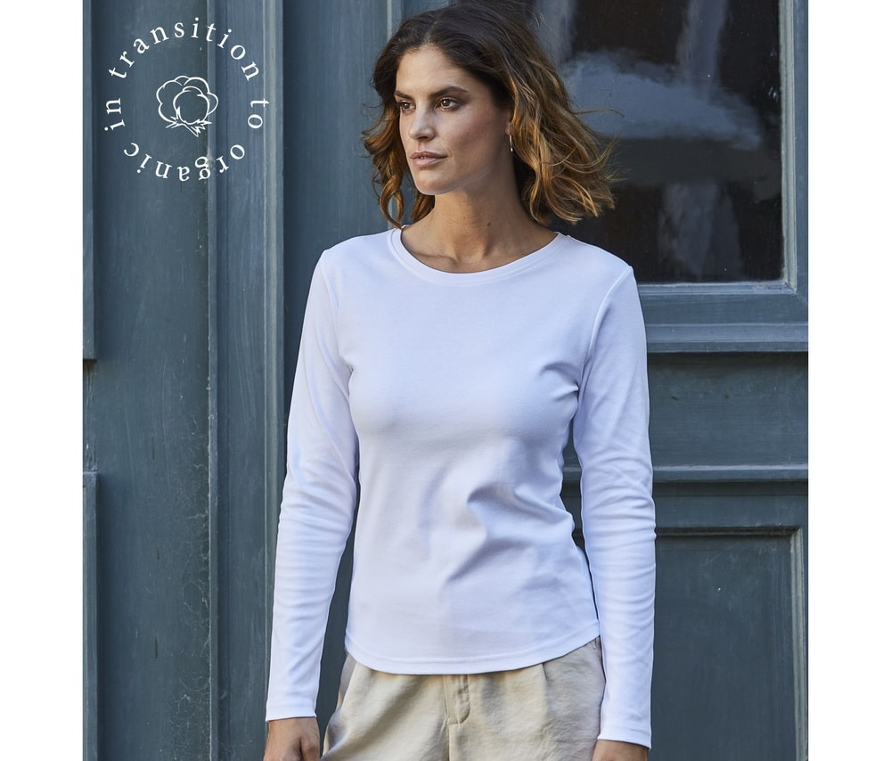 Tee Jays TJ590 - Womens long sleeve interlock tee