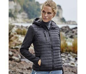 Tee Jays TJ9629 - Hooded crossover jacket Women