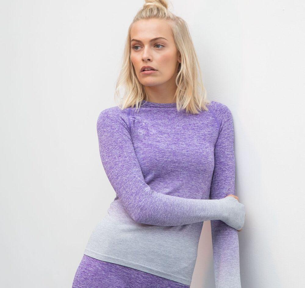 Tombo TL304 - Seamless long-sleeved women